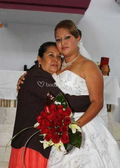 Escenas conmovedoras en bodas