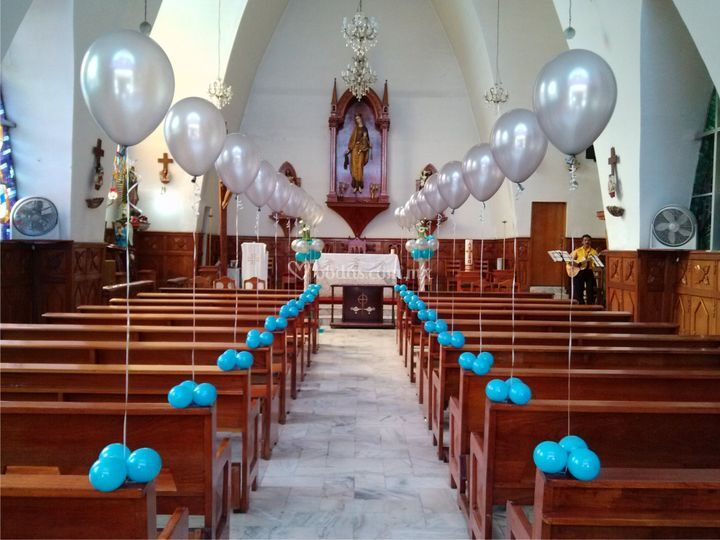 Decoracion boda con globos beautiful decoracion boda con for Decoraciones para bodas sencillas