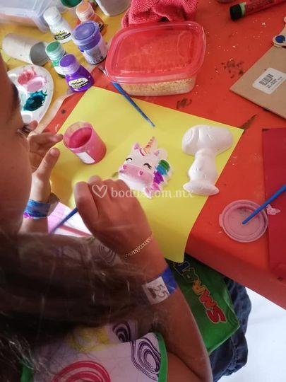 Taller pintura en cerámica