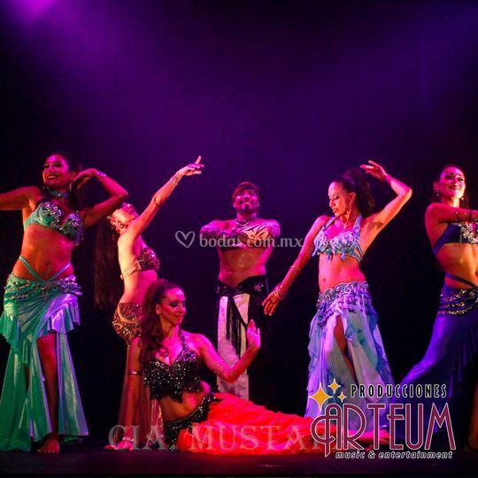 Show de belly dancers