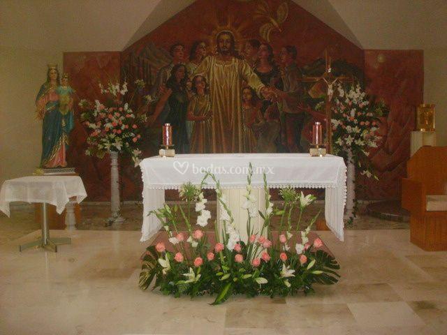 Decoración misa