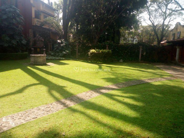 Jardín pozo