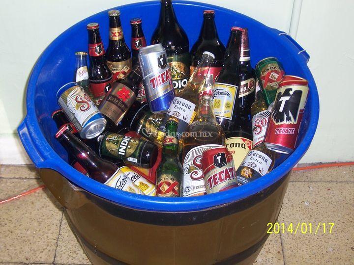 Hieleras de Depósito de Cerveza El Barril