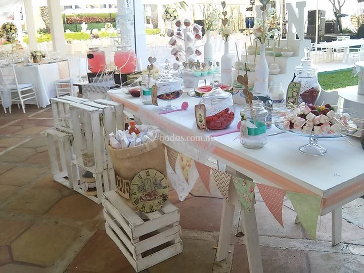 Candy bar vintage shabby chic