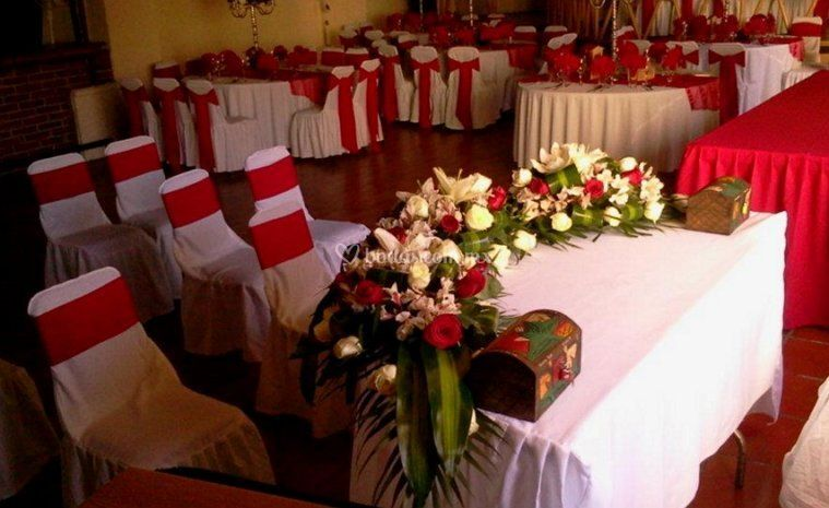 Montaje para boda