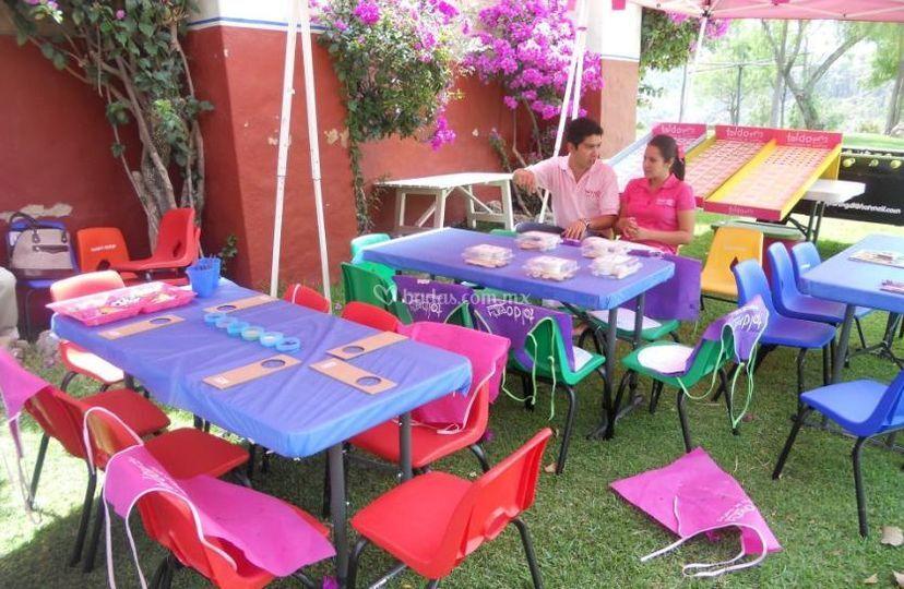 Toldo party - Clases de toldos ...