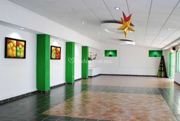 Salón Verde para130 personas
