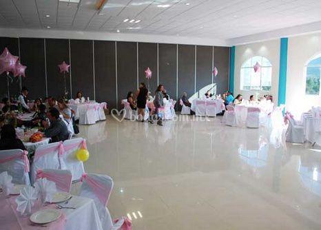 Gran salón para banquetes