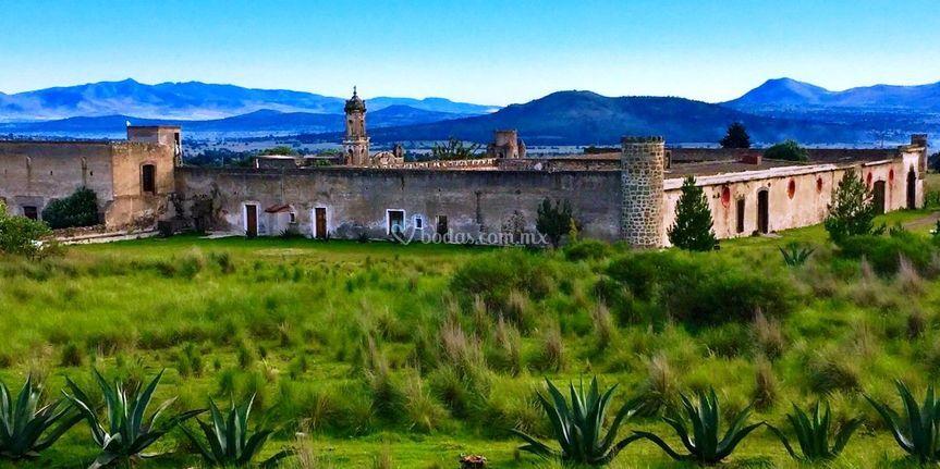 Hacienda Santa Bárbara Casa Malinche