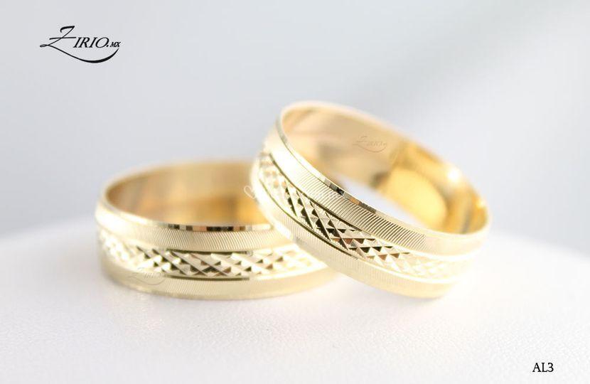 Alianzas en oro gold filled