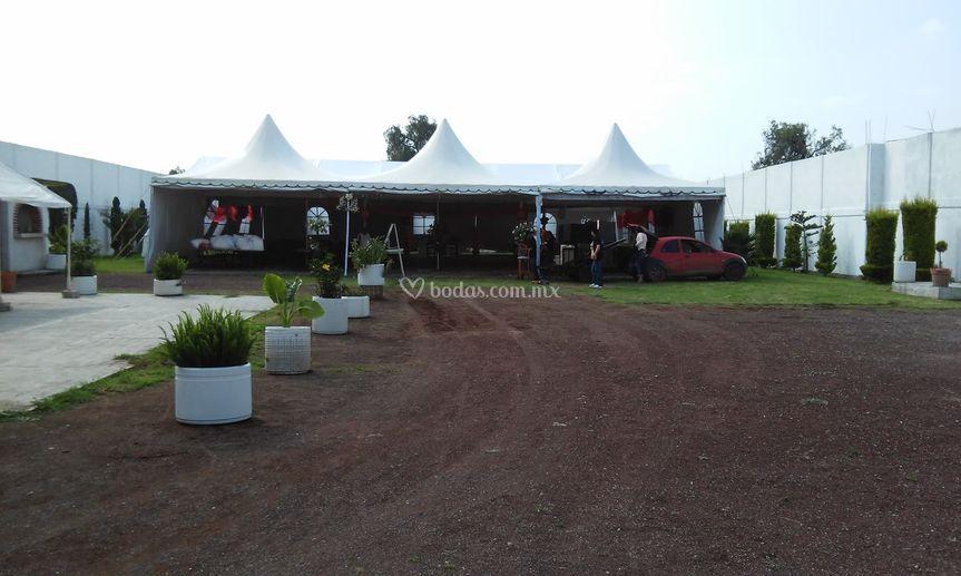 Salón Jardín Los Corazones