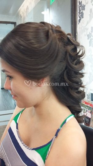 Lateral peinado