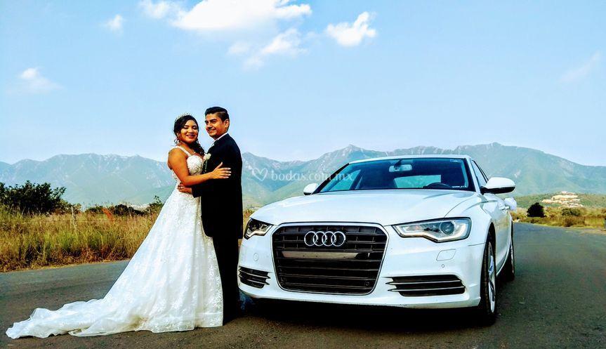 Audi A6 en Cielo Magico