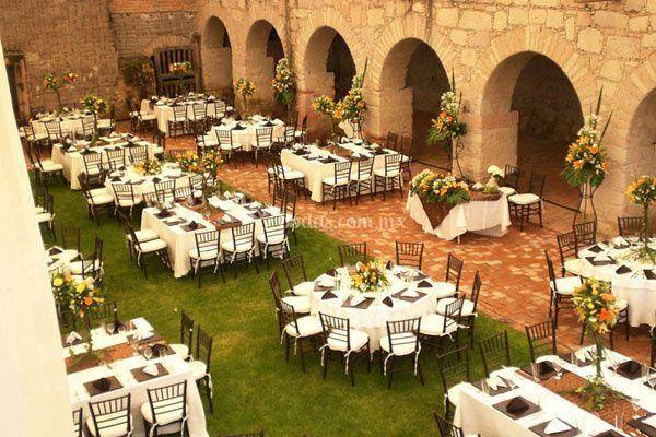 Banquetes en exterior