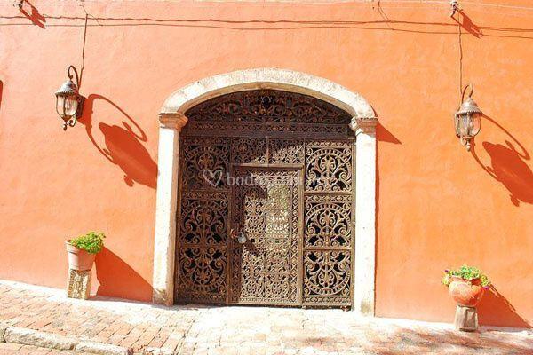 Entrada Hacienda La Cantera