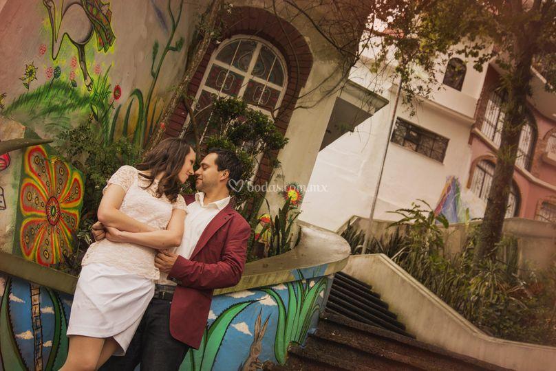 Sesión pre-boda en la ciudad