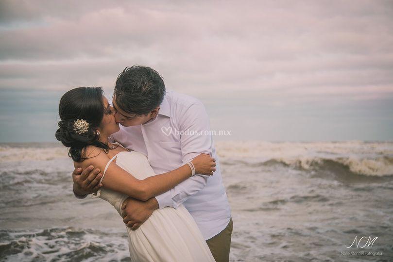 Sesión pre-boda en la playa