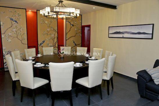 Salón privado para 15 personas