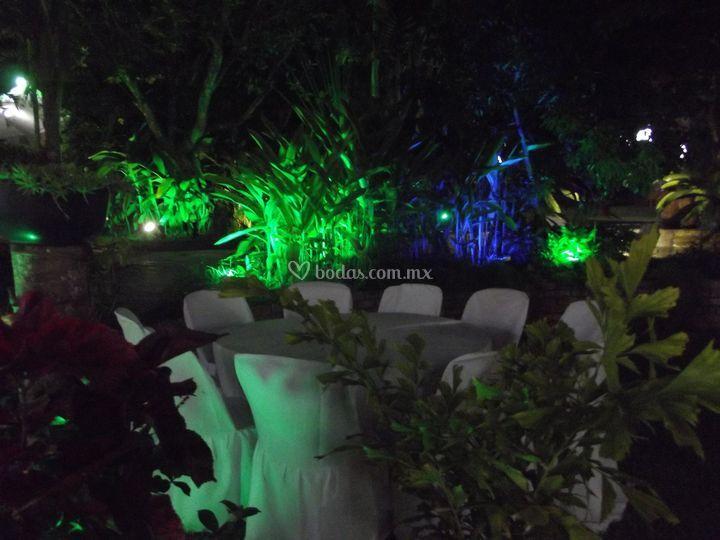 Iluminaci n de jard n de quinta el array n foto 63 - Iluminacion de jardines fotos ...