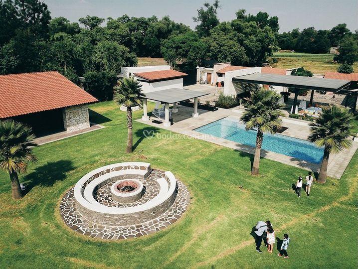 Jardín del Río