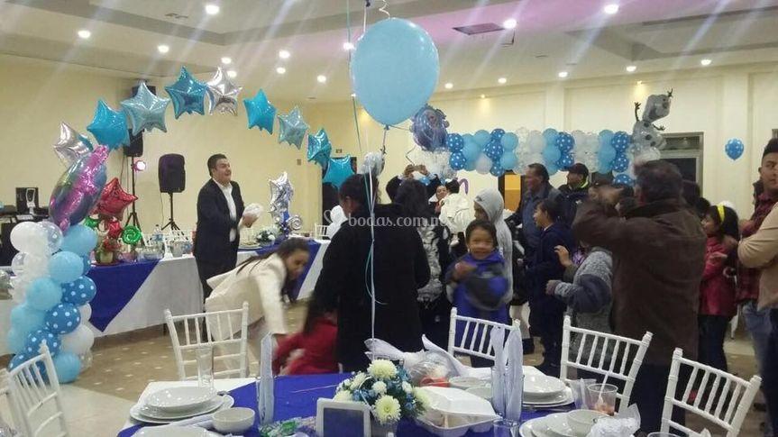 Celebración en salón