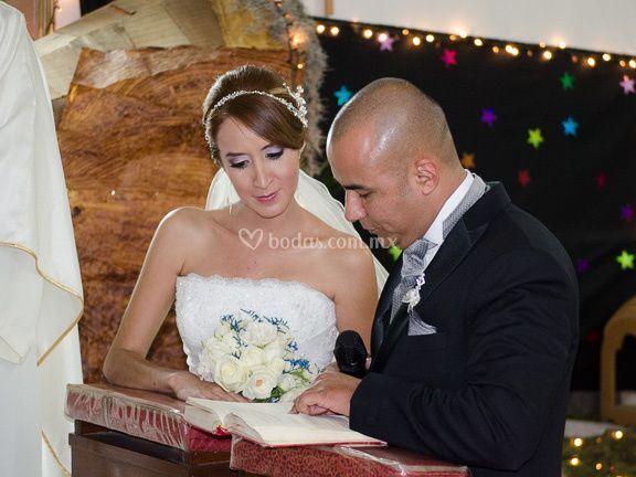Ceremonia conmovedora