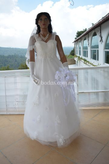 Vestido económico novia