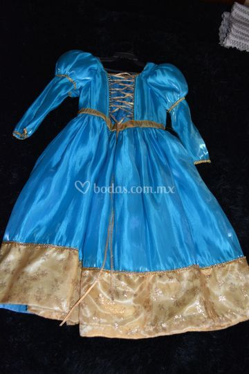 Vestido niña princesa