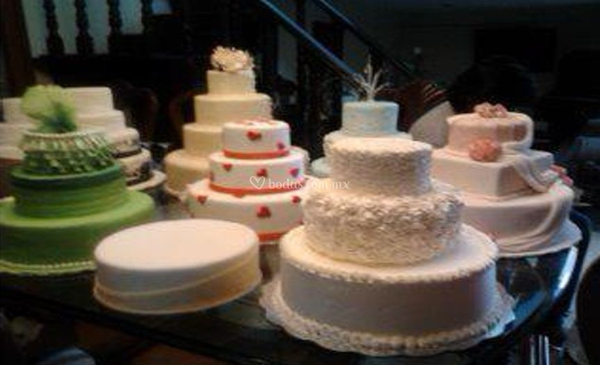 Varios pasteles