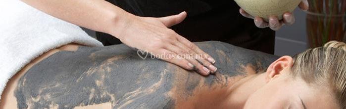 Tratamiento de fango volcanico