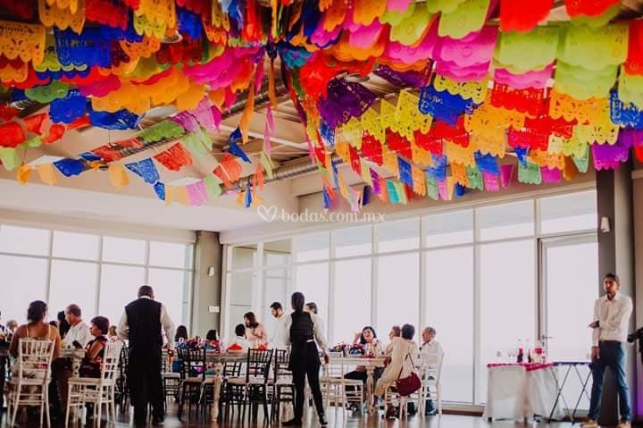 Mexicano multicolor