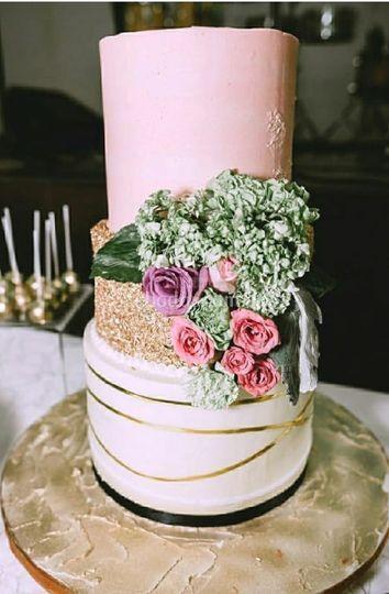 Cake Gold Rose