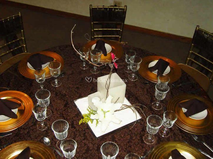 Detalles de la mesa