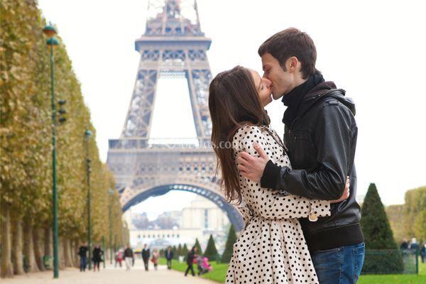Luna de miel en París