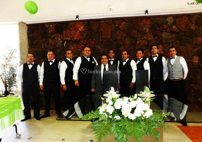 Grupo de staff