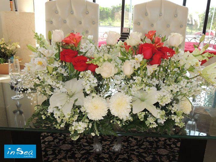 arreglos florales para mesa