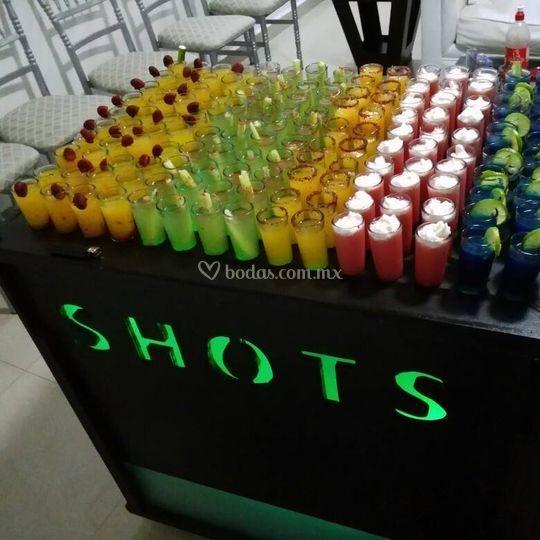 Carrito de shots