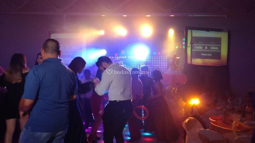 El momento del baile