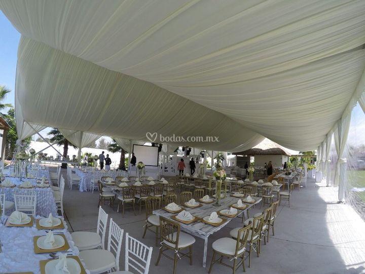 Diseño exquisito en su boda.