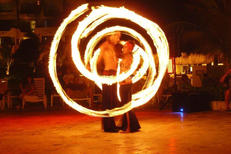 Show fuego-fire show