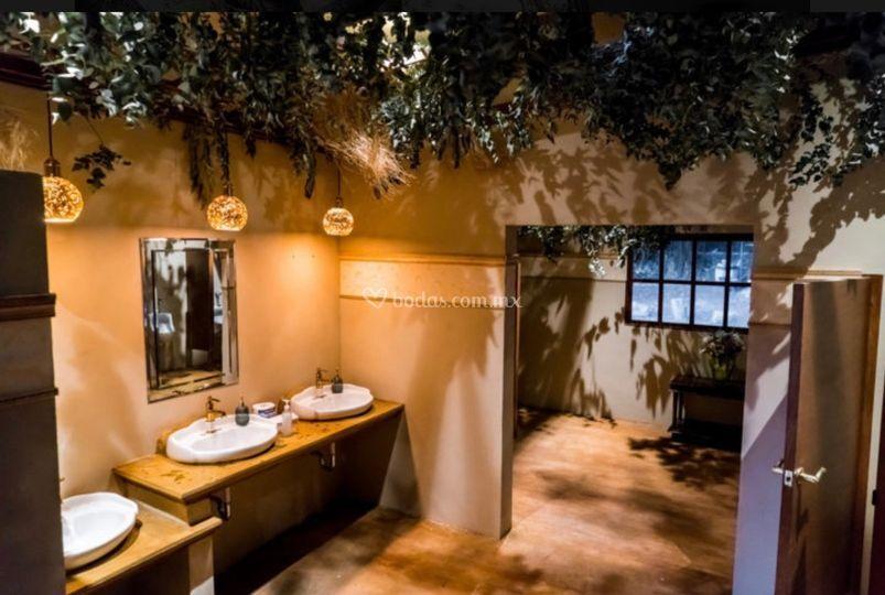 Interios de baños