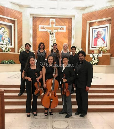 Argot coro y violines