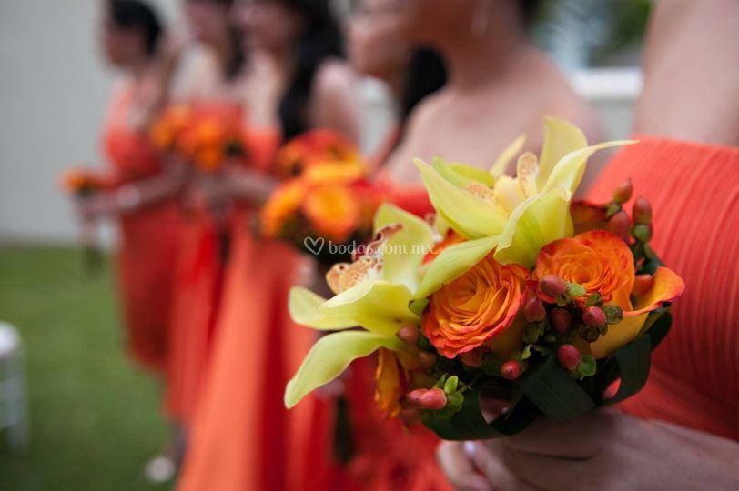 Bouquets para damas