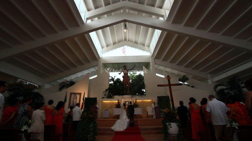 Ceremonia en iglesia
