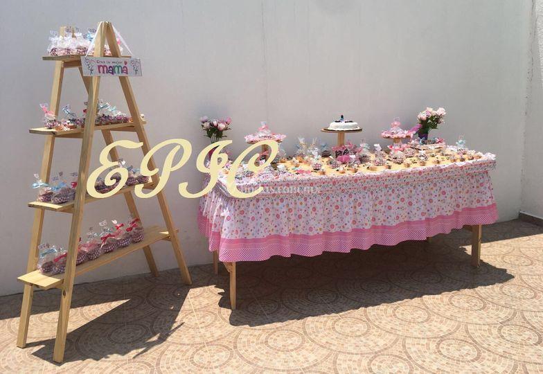 Mesa de dulces Epic