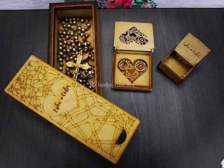 Paquete de cajas