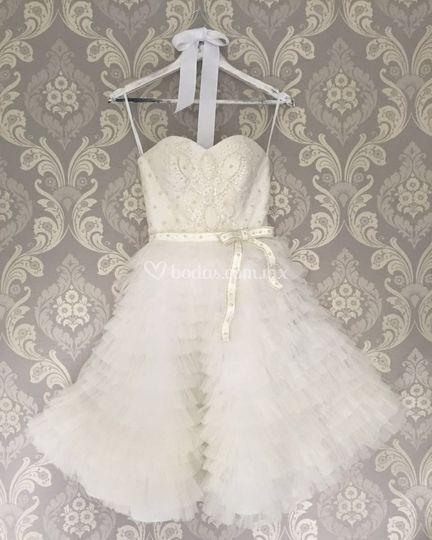 Vestido corto para boda