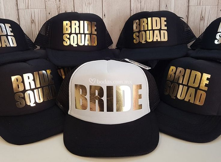 Gorras Team Bride de RealC ProMarketing  9d10997668dc3