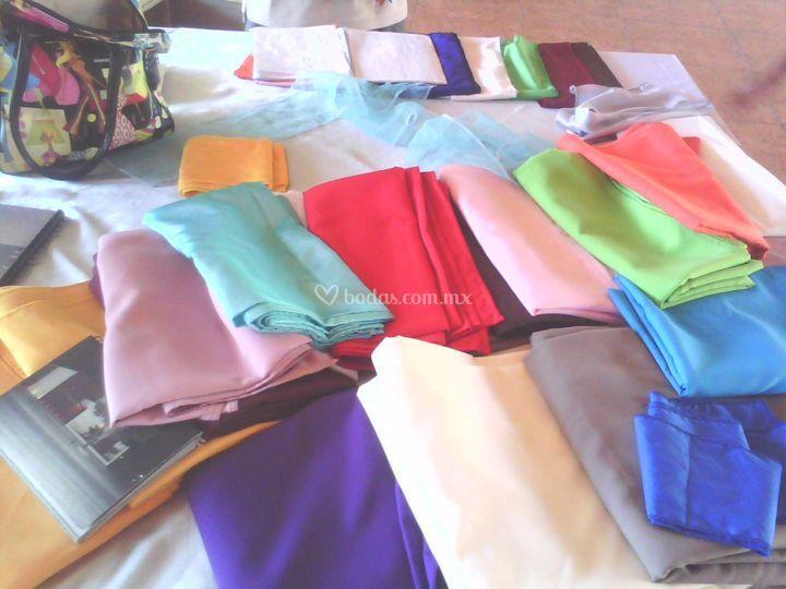 Colores de manteleria