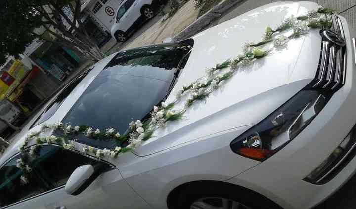 Renta de auto decorado